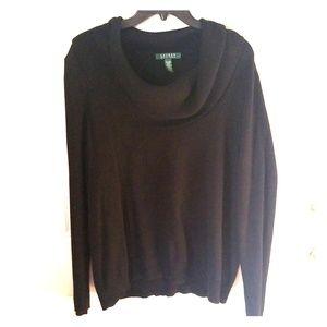 Lauren Plus Size Cowl Neck Sweater